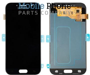 Genuine Samsung Galaxy A5 2017 A520 LCD + Digitiser Black - Part No: GH97-19733A